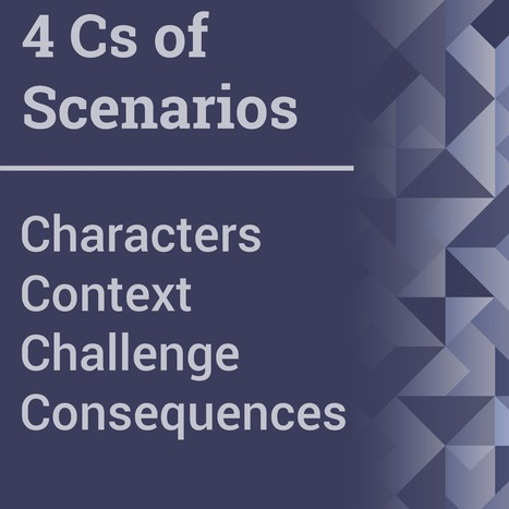 Consider 4 Cs in Scenario-Based Learning | APRENDIZAJE | Scoop.it