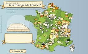Jeu sur les fromages de France | Remue-méninges FLE | Scoop.it