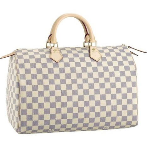 Louis Vuitton Outlet Speedy 35 Damier Azur Canvas N41535 Handbags For Sale,70% Off | Louis Vuitton Speedy 35_lvbagsatusa.com | Scoop.it