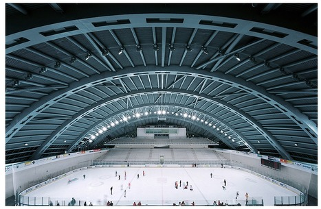 [Jaca, Huesca, Spain] City of Jaca Hockey Arena / Coll-Barreu Arquitectos | The Architecture of the City | Scoop.it