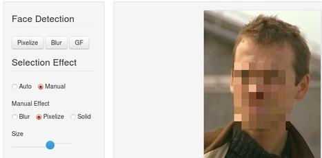 Facepixelizer : outil en ligne pour flouter ou pixeliser une partie d'une photo | TICE, Web 2.0, logiciels libres | Scoop.it