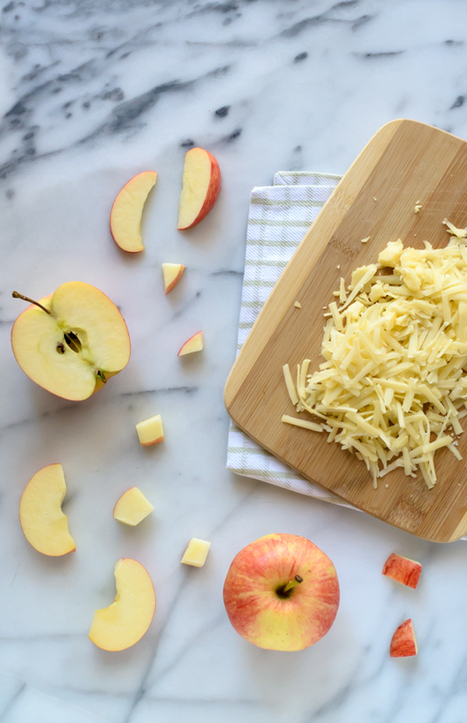 Healthy Ham and Cheese Casserole with Apples and Sage     Happy Nibbler   Scoop.it