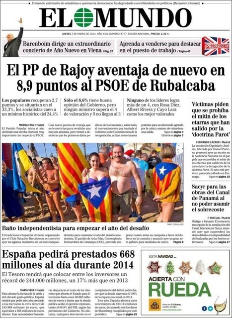 Las primeras portadas del 2014.   La Redacción   Periodismo crítico   Scoop.it