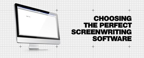 How To Choose The Best Screenwriting Software   Screenwriting, Scripts, Storytelling & Movie Stuff   Scoop.it