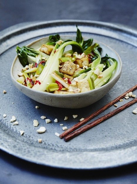 Cashew & Tofu Stir Fry | Vegetable Recipes | Jamie Oliver | My Vegan recipes | Scoop.it