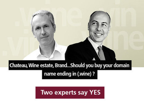 Jourdan on #WineWednesday: Should you buy your domain name ending in (.wine) ? | Vitabella Wine Daily Gossip | Scoop.it