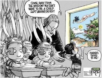 Niet naar buiten kijken....je moet leren! | Master Leren & Innoveren | Scoop.it