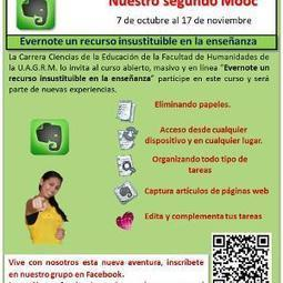 Invitación al II MOOC de Tecnología Educativa: Evernote un recurso insustituible en la enseñanza. | PsyhealthTICs | Scoop.it