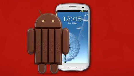 Android KitKat llega a Galaxy SIII - unocero | new-top | Scoop.it