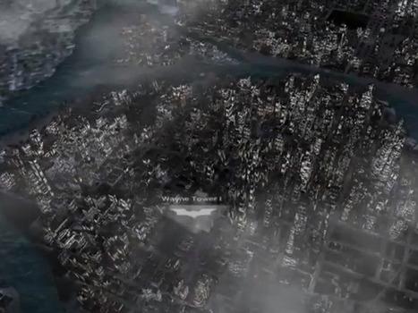 Visiter Gotham City en 3D dans Nokia Maps, ce sera bientôt possible   Strange days indeed...   Scoop.it