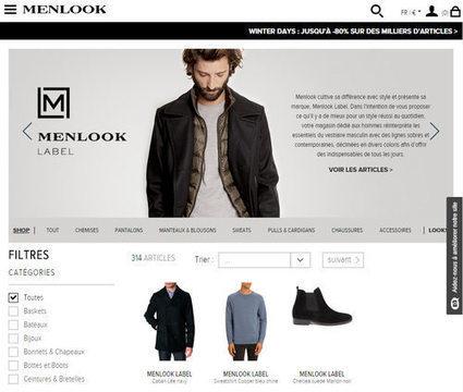 E-commerce: Menlook déploie sa marketplace   Ecommerce' topic   Scoop.it