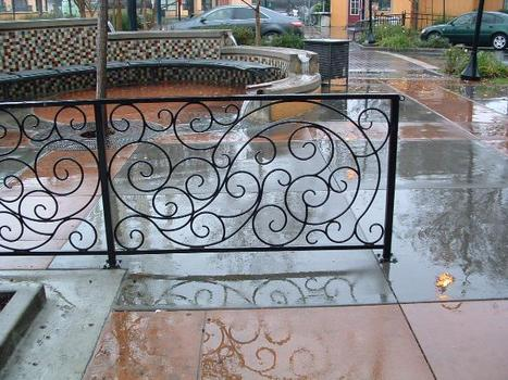 Find highest level of wrought iron railings & iron products | Custom Courtyard Gates Design with variant styles around Sacramento | Scoop.it