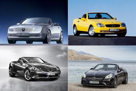 De SLK à SLC, déjà 20 ans de coupé-cabriolet | Auto , mécaniques et sport automobiles | Scoop.it