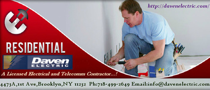 NYC Residential Electrician and Contractor | Daven Electric Inc - A NYC Electrician | Scoop.it