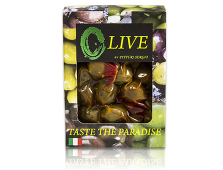 Marinated Green & Black Olives by Pitturi Sergio Olives on Marx Foods | Le Marche and Food | Scoop.it