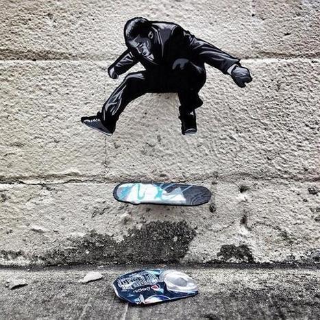 Rodney Torres Skateboarding by street artist Joe Iurato | Art | Scoop.it