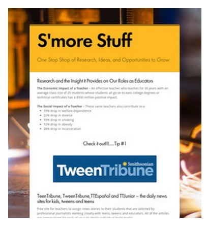 S'more Stuff | Technology Tools For Education | Scoop.it