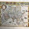 Antique map of Asia, 1644
