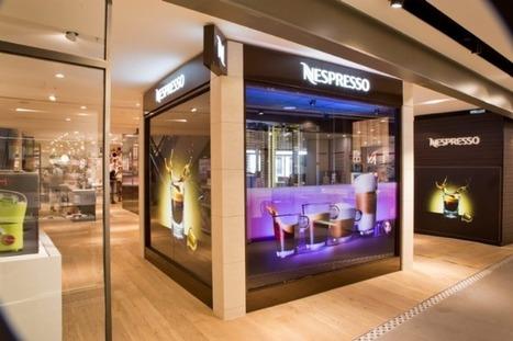 Nespresso Cube : la nouvelle boutique high-tech | Retail | Scoop.it
