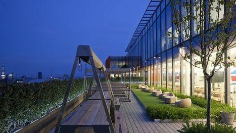 Les jardins d'entreprise, une bonne manière de se mettre au vert - Le Figaro | Stress ou bien être en entreprise : causes et bonnes pratiques | Scoop.it