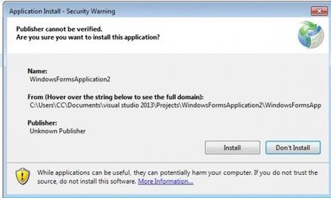 Create and Publish Applications using Visual Studio 2013 | visual studio 2013 | Scoop.it