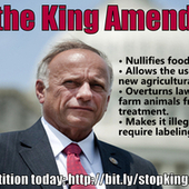 U.S. Congress: Stop the King Amendment to the 2013 Farm Bill | GMOs & FOOD, WATER & SOIL MATTERS | Scoop.it