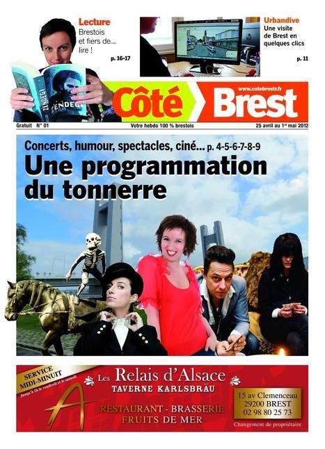 Publihebdos lance Côté Brest : nouveau gratuit d'information à Brest | MédiaZz | Scoop.it