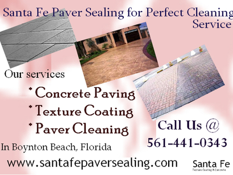 Perfect Cleaning Service - Santa Fe Paver Sealing | Driveway Paver Color Coating & Maintenance | Scoop.it