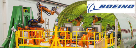 Robotic Technology Speeds Manufacturing of Boeing 777 Fuselages | Robotic applications | Scoop.it