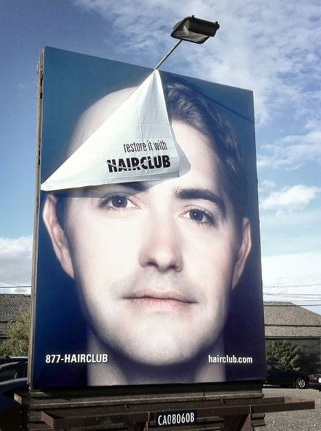 50 Brilliant Outdoor Advertising Ideas | Visual Content Strategy | Scoop.it