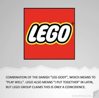 How Famous Brands Got Their Names, Logos - DesignTAXI.com | Identité des marques | Scoop.it
