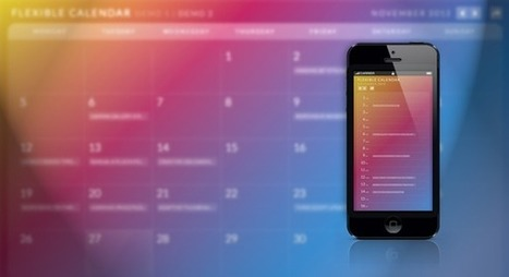 Create Responsive Calendar with Calendario jQuery Plugin | Responsive design & mobile first | Scoop.it