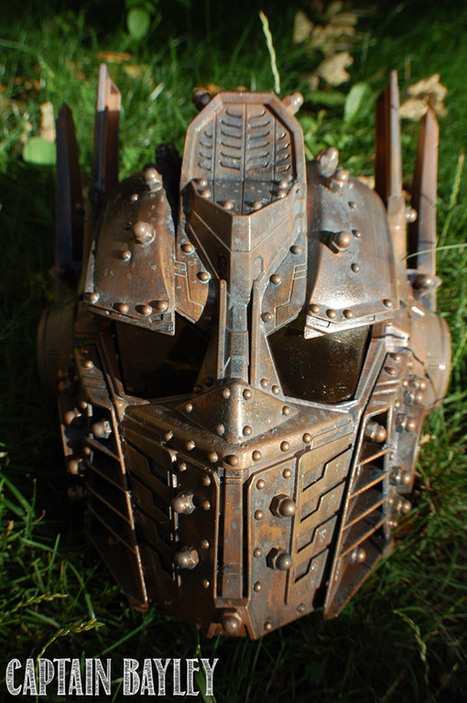 Steampunk Optimus Prime Mask With Voice Changer | All Geeks | Scoop.it