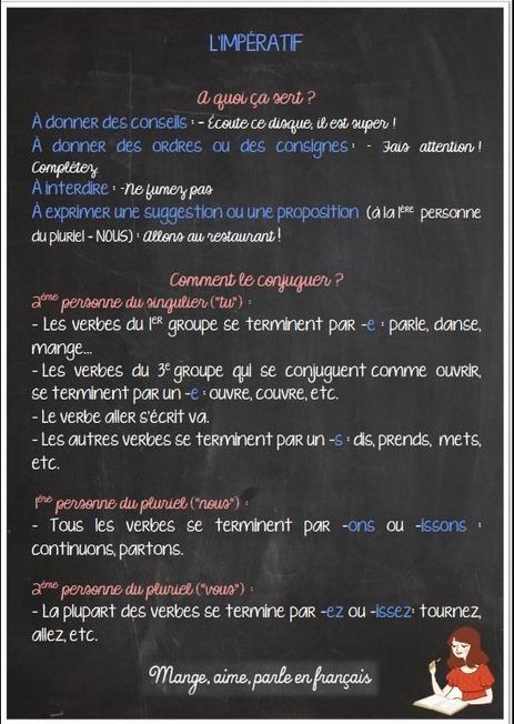 Mange, aime, parle en français.: L'impératif présent. Je veux- ZAZ | Parle en français! | Scoop.it