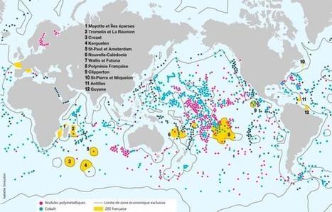 Ressources minières : la France se donne les moyens de ses ambitions   Ressources minérales sous-marines   Scoop.it
