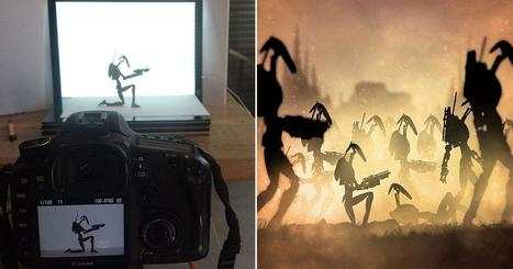 These Star Wars Artworks Were Made by Photographing Action Figures | Photography | Scoop.it