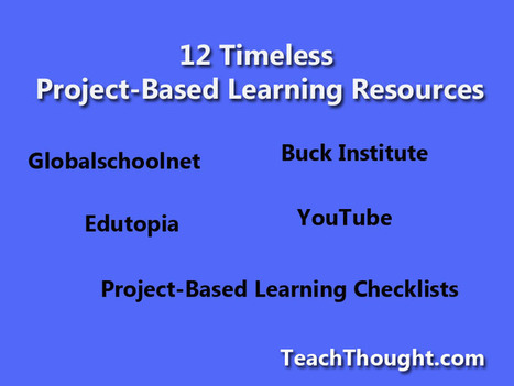 12 timeless Project-Based Learning resources | digital creativity in education | Scoop.it
