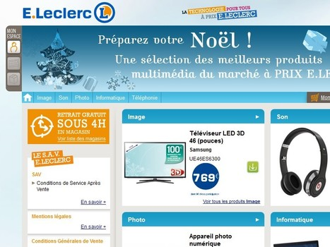 Michel-Edouard Leclerc: 'En2015, nous serons vraiment la première enseigne multicanal et multiformat' | E-commerce, M-commerce : digital revolution | Scoop.it