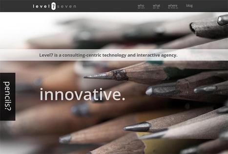 Websites with Full Size Image Background | Design Web Kit | CRAW | Scoop.it