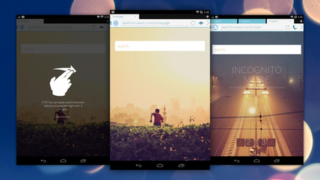 Javelin Browser Is a Fast, Good-Looking Browser for Android | Digital-News on Scoop.it today | Scoop.it