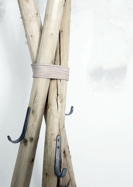 Atelier Decor: D I Y_ wooden hanger | Interior Life | Scoop.it