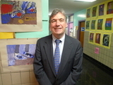 PS 75 Principal Bob O'Brien Values Arts and Diversity - DNAinfo | Visual Arts in Education | Scoop.it