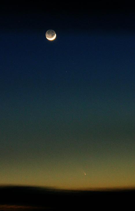 La comète Panstarrs dans le ciel français | Epic pics | Scoop.it