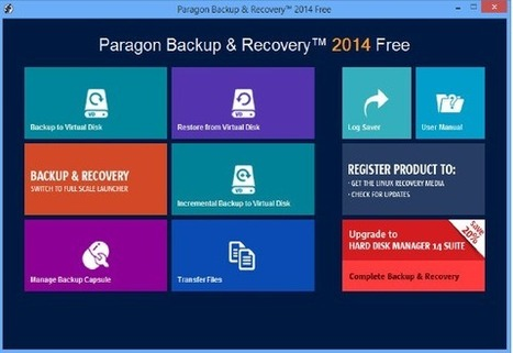 Paragon Backup And Recovery 2014 Free review   Tech And IT News   Scoop.it