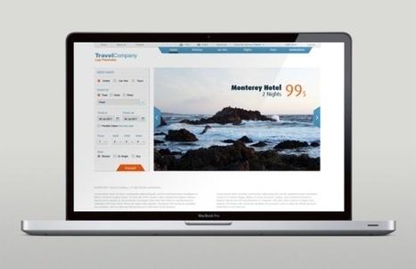 23 Beautiful UI / UX Designs | Web Design & Development | Scoop.it