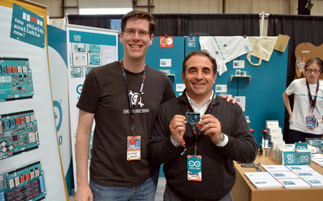 Federico Musto of Arduino SRL Shows Off New ARM-based Arduino Boards | Open Source Hardware News | Scoop.it