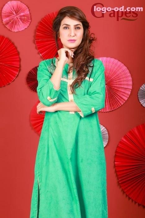 Latest Stylish Cotton Kurta Collection 2014 : Fashion World   Fashion   Scoop.it