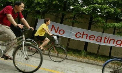 The art of cheating - Global Times   The world of IELTS   Scoop.it