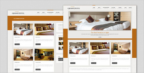 Grand Hotel – Resorts Business HTML Template (Travel)   Site Templates Download   Scoop.it