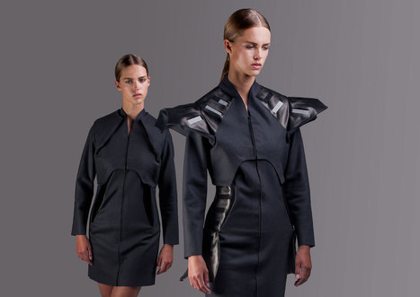 Wearable Solar Clothing That Charges your Smartphone - Design Milk | Healthcare Technology | Scoop.it